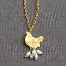 Mother Hen Pearl Necklace