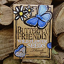 Butterfly Friendly 'Thank You' Flower Seeds