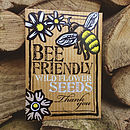 Bee Friendly 'Thank You' Wild Flower Seeds