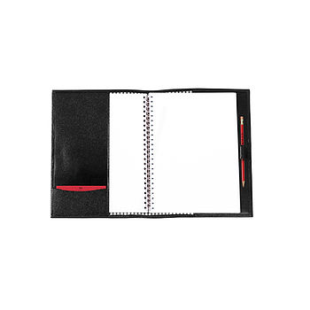 Leather A5 Slip Cover Portfolio
