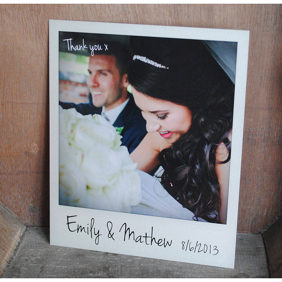 Images of Personalized Wedding Thank You Cards Weddings Center – Best Wedding Thank You Cards