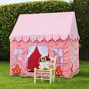 Pink Cottage Play Tent - gifts for babies & children sale