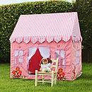 Pink Cottage Play Tent