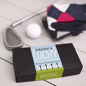 Gift For A Golfer Sock Set - sports fan