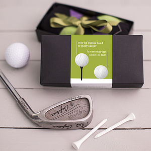 Fun Gift For A Golfer Socks