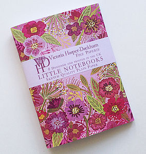 Bright Meadow Little Notebooks