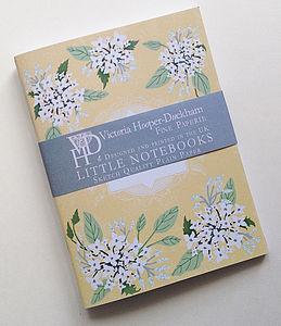Spring Flower Sprig Little Notebooks