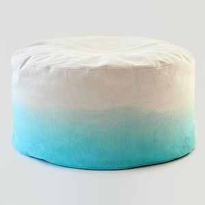 Hand Dyed Ombre Bean Bag Cover - furniture