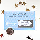 Guess What? Personalised Scratchcard
