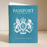 Passport Invitation And Boarding Pass Rsvp - weddings