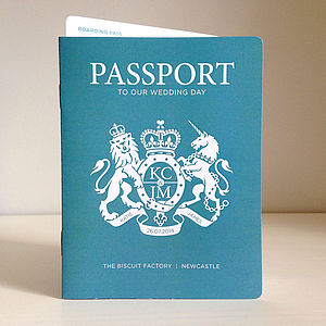 Passport Invitation And Boarding Pass Rsvp