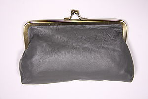 Large Leather Purse - purses & wallets