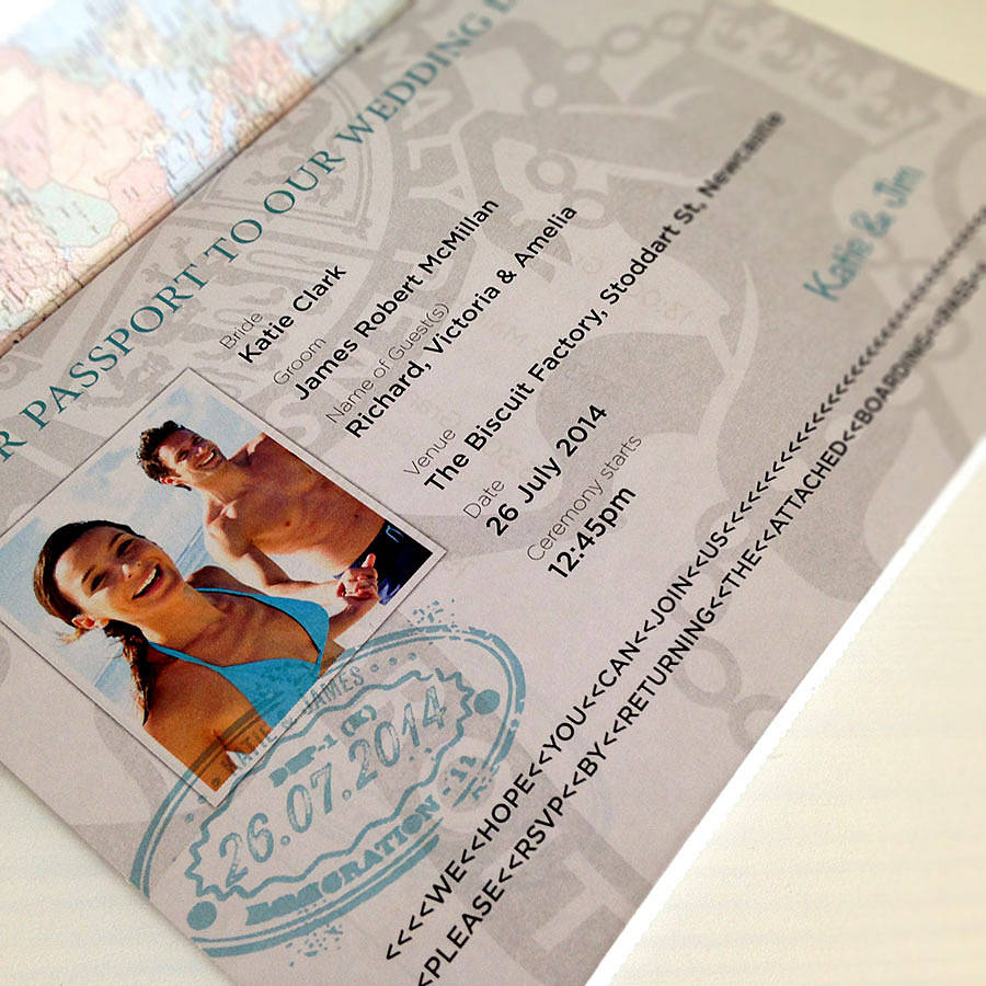passport invitation and boarding pass rsvp by ink ...