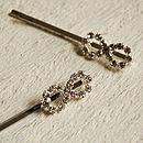 Set Of Two Eternity Hair Slides