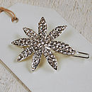 Diamante Flower Hair Pin