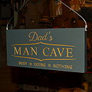 Engraved Wooden Sign For Dad Or Daddy