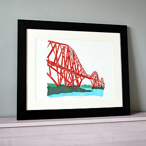 Forth Rail Bridge Print