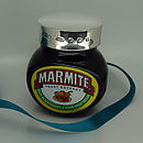 Personalised 125g Silver Marmite Lid