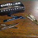 Luxury Metal Collar Stiffeners 16 Pieces