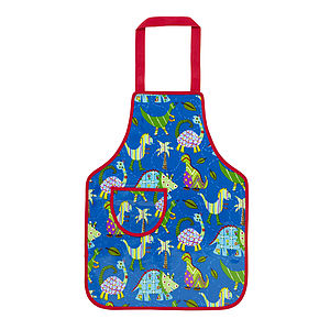 Dinosaur Child's Pvc Apron