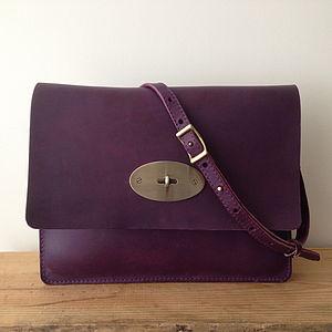 Hand Crafted Martha Leather Bag