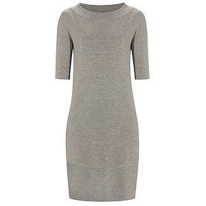 Knitted Shift Dress - dresses