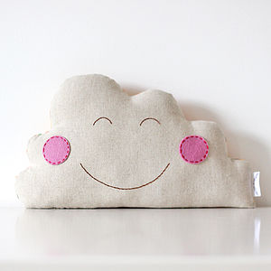 Happy Cloud Cushion - soft furnishings & accessories
