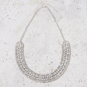 Abelina Bib Necklace - cocktail jewellery