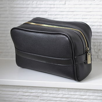 Personalised Men's Washbag
