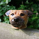 Border Terrier Egg Cup