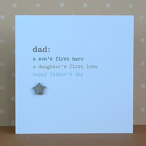 Sentimental Father's Day Card - shop by category