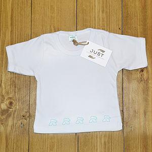 Organic Cotton Elephant Print T Shirt