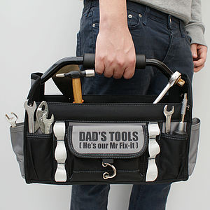 Personalised Diy Tool Bag - 50th birthday gifts