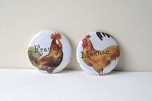 Vintage Style Personalised Hen Party Badge - hen party styling