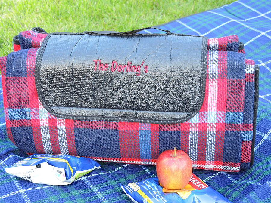 Personalised Large Picnic Blanket Gifts For Her
