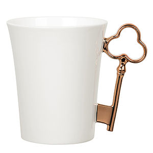 'Bronze' Key Handle Mug