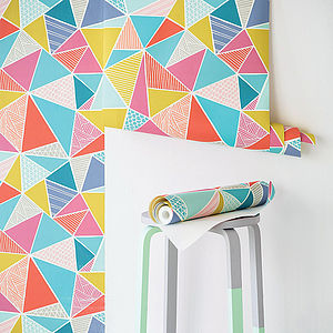 Tress Wallpaper - the geometric trend
