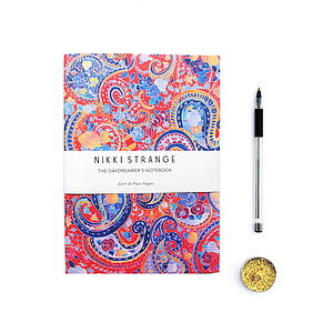 Gypsy Paisley A5 Notebook - stationery-lover