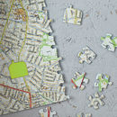 Personalised Our House Map Jigsaw