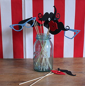Photo Booth Props - stocking fillers under £15