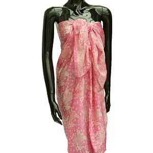 Silk Sarongs In A Choice Of Four Colours