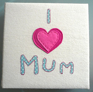 Hand Made 'I Love Mum' Photo Album