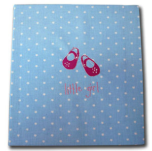 Hand Made Little Girl Blue Star Album
