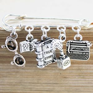 Literacy Book Lover Brooch