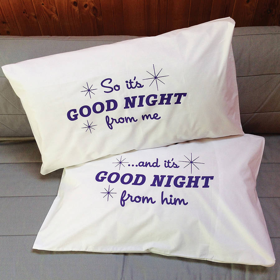 Pillowcases Funny Two Ronnies Quote By Twisted Twee