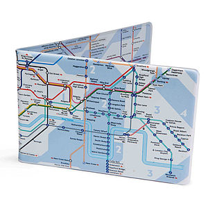 Tube Map Oyster Wallet