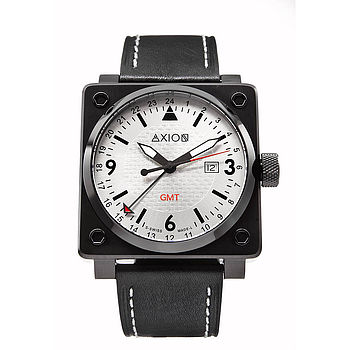 Men's Square Swiss Watch