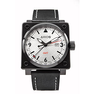 Men's Square Swiss Watch - men's accessories