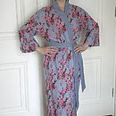 Floral Cotton Voile Kimono