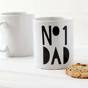 Father's Day Number One Dad Mug